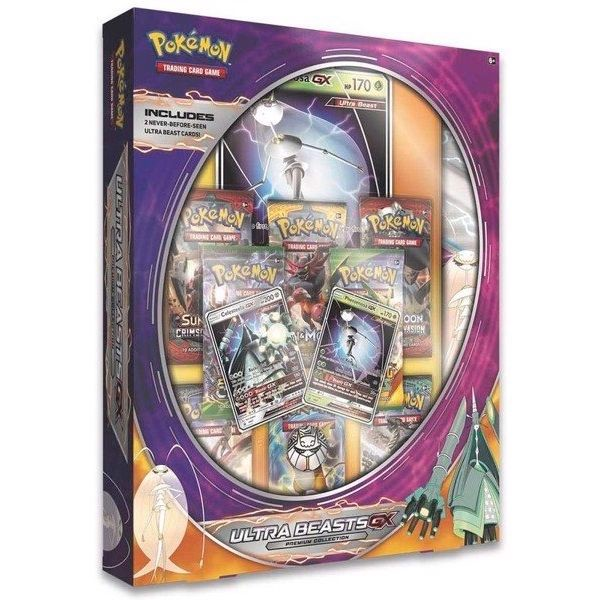 PB74 - Ultra Beasts Premium Collection - Pheromosa-GX & Celesteela-GX (Pokémon TCG)