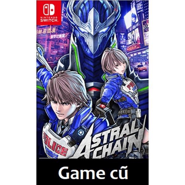 Astral Chain cho Nintendo Switch [Second-hand]