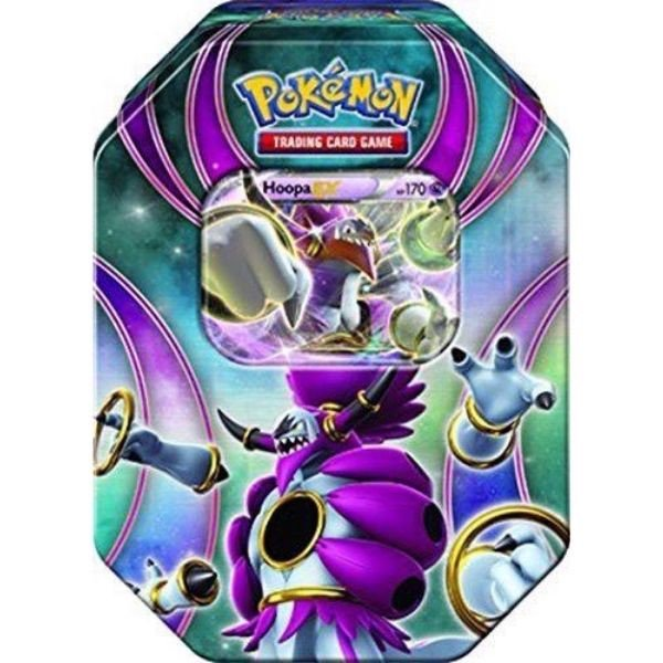 PT21 - HOOPA-EX BEYOND THE ORDINARY TIN (POKÉMON TRADING CARD GAME)