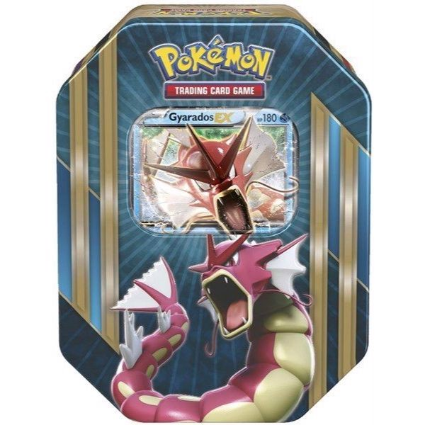 PT11 - SHINY GYARADOS-EX COLLECTOR TIN (POKÉMON TRADING CARD GAME)