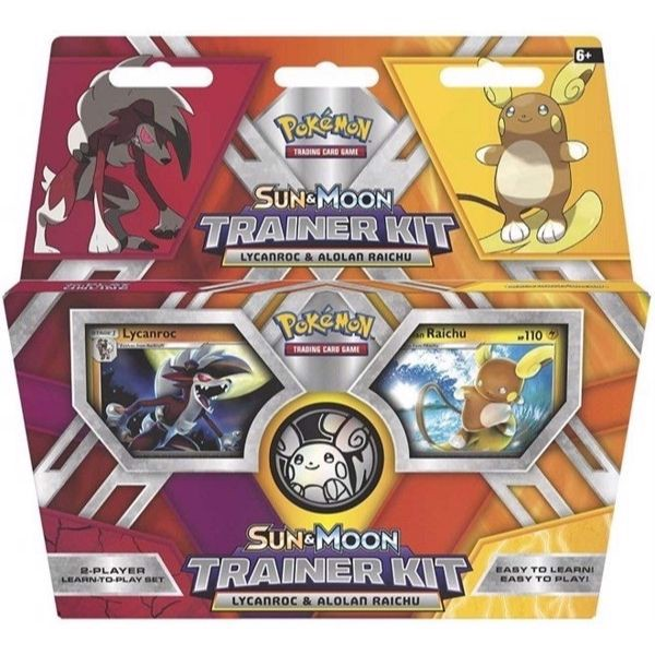 PD42 - SUN & MOON TRAINER KIT: ALOLAN RAICHU & LYCANROC (POKÉMON TRADING CARD GAME)