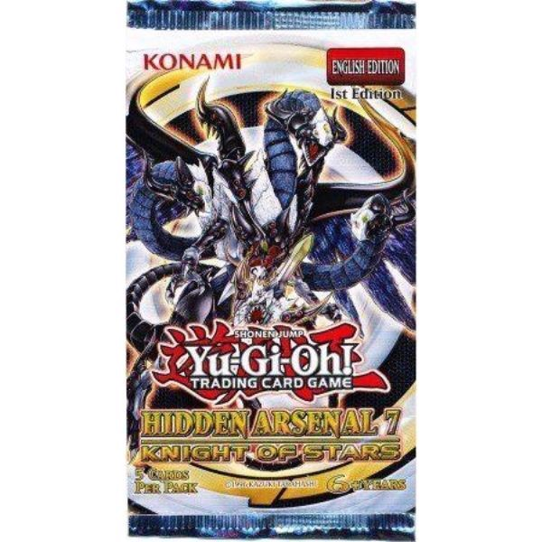 Y85 - HIDDEN ARSENAL 7: KNIGHT OF STARS (YU-GI-OH! TCG)