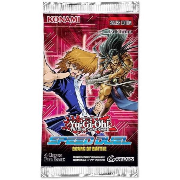 YG054 - Thẻ bài Yugioh Speed Duel: Scars of Battle