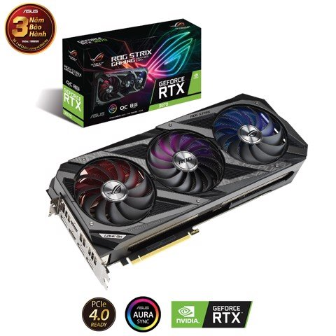 Card Màn Hình ASUS ROG Strix GeForce RTX™ 3070 O8G GAMING