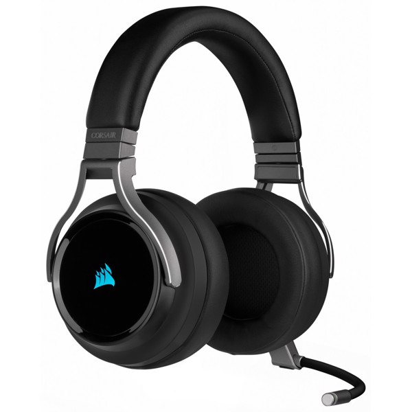 Tai nghe Corsair Virtuoso RGB Carbon - 7.1 Surround - Slipstream Wireless
