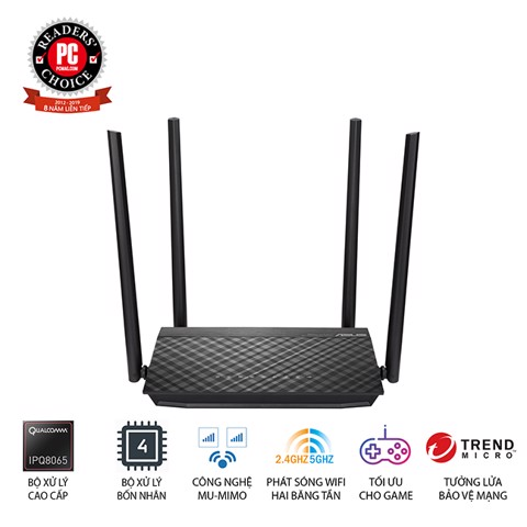 Router ASUS RT-AC15000UHP
