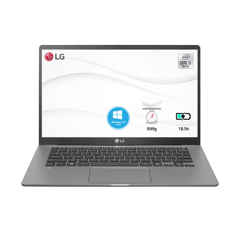 Laptop LG Gram 2020 14Z90N-V.AR52A5 (i5-1035G7 | 8GB | 256GB | Intel Iris Plus Graphics | 14' FHD | Win 10)