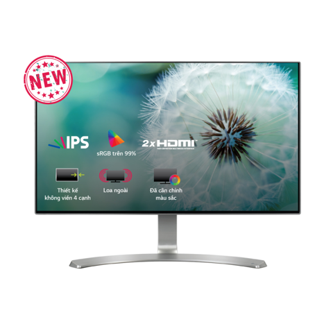 Màn Hình LG 24MP88HV-S 24inch FullHD 5ms 60Hz IPS Speaker