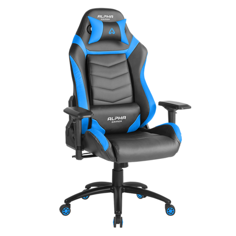 Ghế Alpha Gamer Gamma Black/Blue