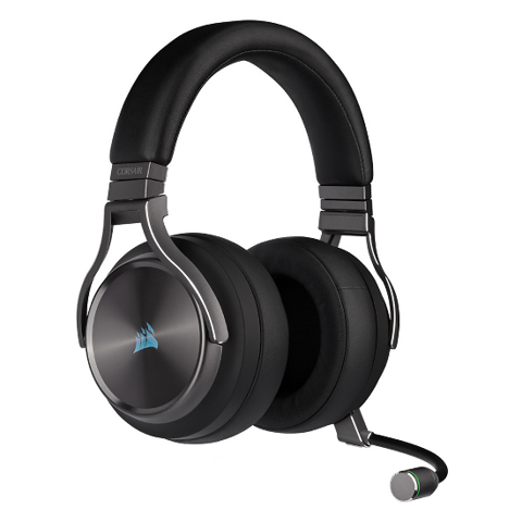 Tai nghe Corsair Virtuoso RGB Gunmetal  - 7.1 Surround Wireless