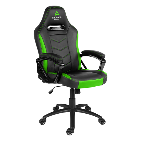 Ghế Alpha Gamer Kappa Black/Green