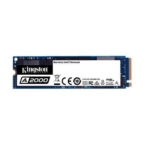 SSD Kingston A2000 500GB NVMe PCIe Gen3x4