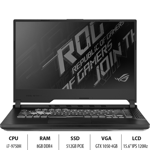 Laptop ASUS ROG Strix G G531GD-AL034T (i7-9750H)