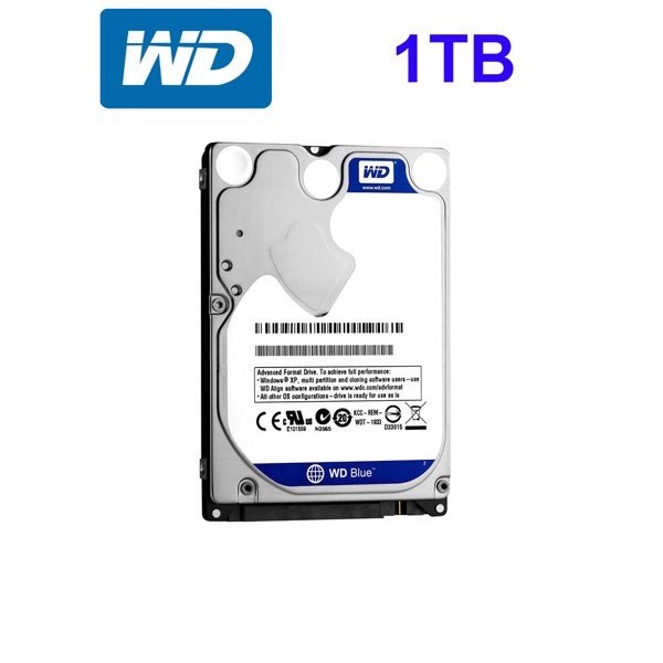 HDD Western Digital WD10SPZX 1TB 1TB 5400rpm Blue