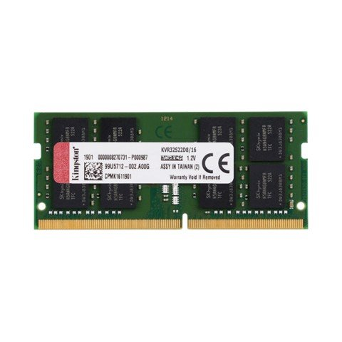 Ram Kingston DDR4 16GB Bus 3200MHz KVR32S22D8/16