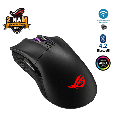 Chuột Gaming ASUS ROG Gladius II Wireless