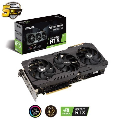 Card màn hình ASUS TUF GeForce RTX3090 O24G GAMING