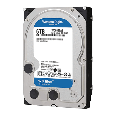 Ổ Cứng HDD WD Blue 6TB 5400rpm 3.5