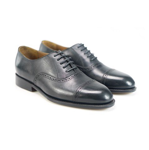 Oxford Classic Captoe Black