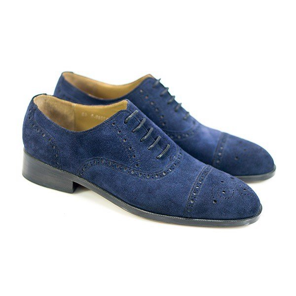 Oxford Suede Navy