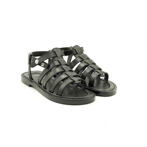 Single Julius Sandals Black