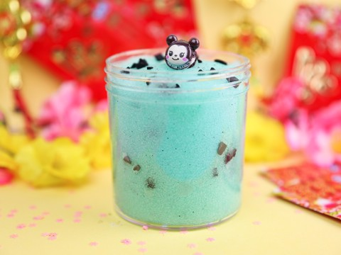 Mint Chocolate Chip Icee
