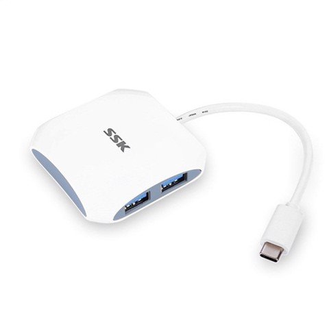 Cable SSK HUB USB 3.1 Type-C 4 ports SHU810