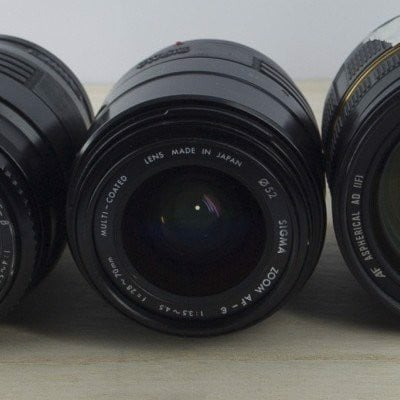 Lens Sigma 28-70mm F3.5-4.5 For A