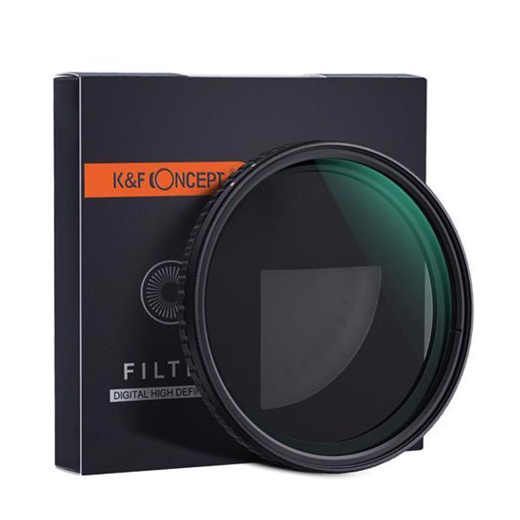 Filter K&F Concept Nano-X CPL+Variable Fader NDX ND2~ND32 72mm