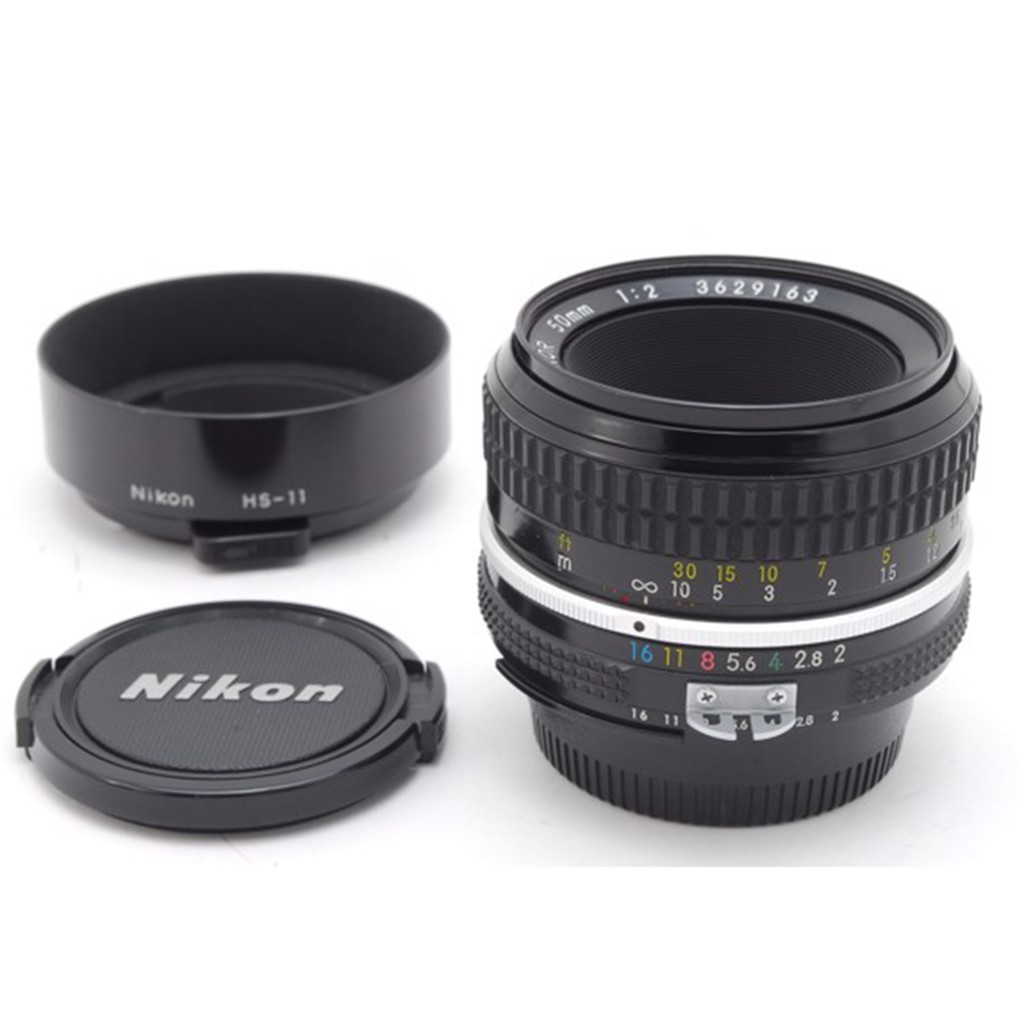 Lens Nikkor 50mm F2 MF