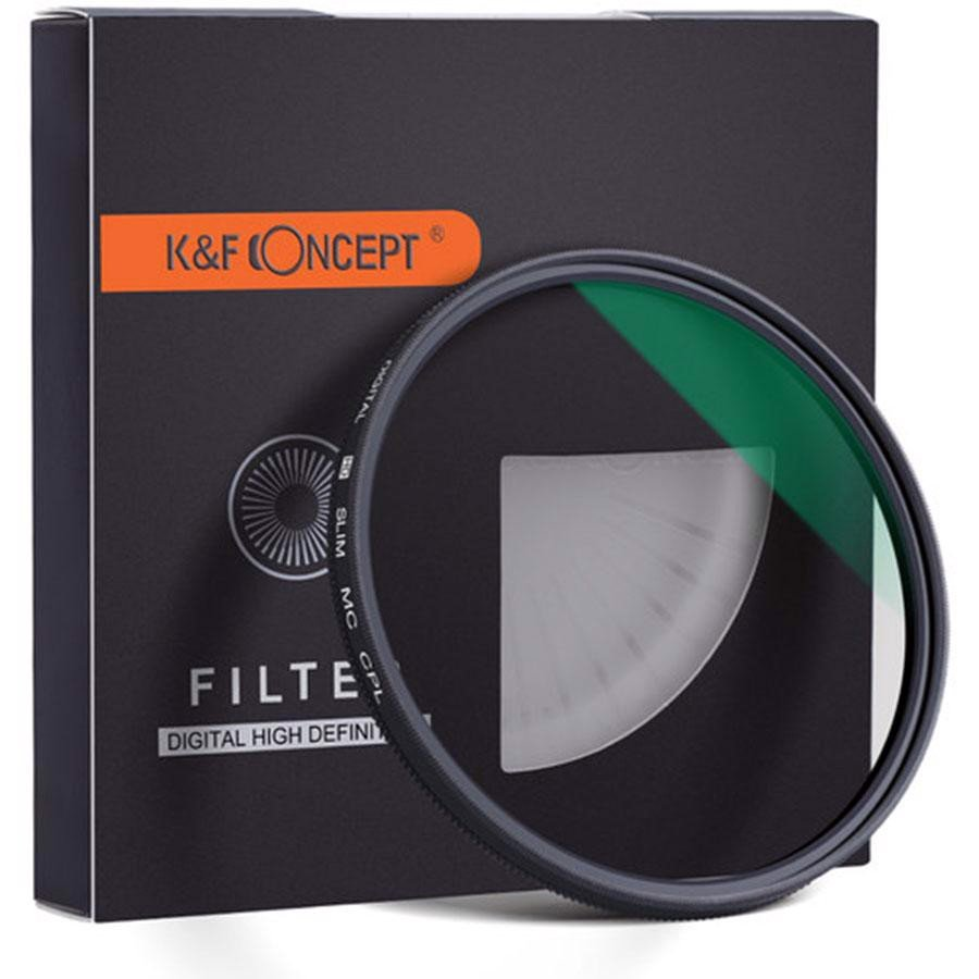 Filter CPL K&F Concept 72mm Slim MC