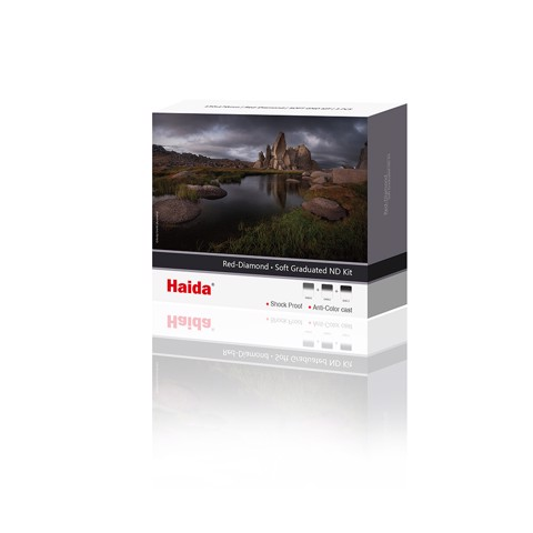 Bộ GND Haida Red-Diamond 100x150mm Soft Graduated ND Filter Kit (HD4312)