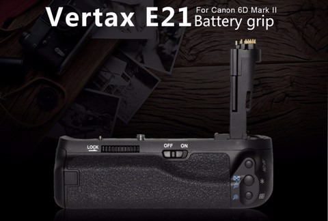 Battery Grip Pixel Vertax E21 cho Canon 6D Mark II