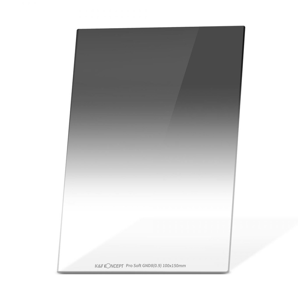 Kính Lọc  K&F Concept Graduated Neutral Density GND8 Soft 3 f-stop Filter 100x150mm
