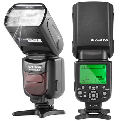 Đèn Flash K&F Concept  KF590EX-N FOR Nikon