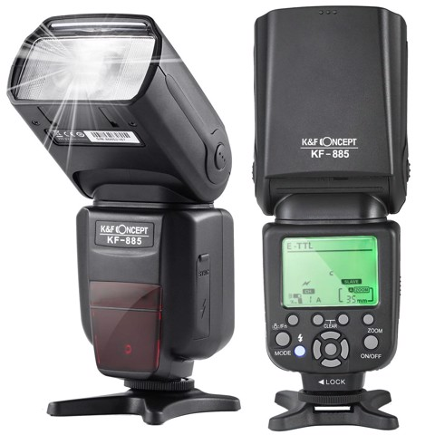 Đèn Flash K&F Concept KF885 for Canon và Nikon