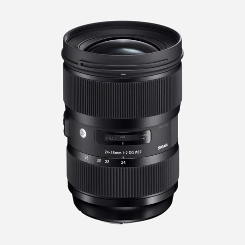 Lens Sigma 24-35mm F/2 DG HSM Art for Canon