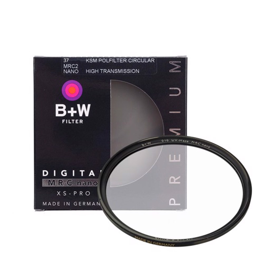 Filter UV 37mm | B+W XS-Pro MRC Nano UV-Haze (Cao cấp) - 1073878
