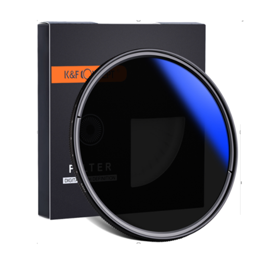 Filter K&F Concept Variable ND2-ND400 - 82mm Blue Muilt-Coated