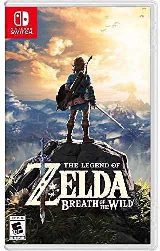 Game Nintendo Switch The Legend of Zelda : Breath of the Wild