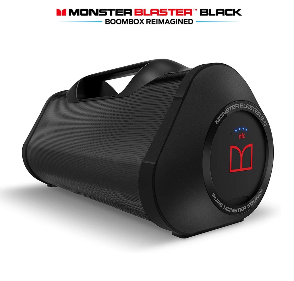 Loa Monster blaster boombox black