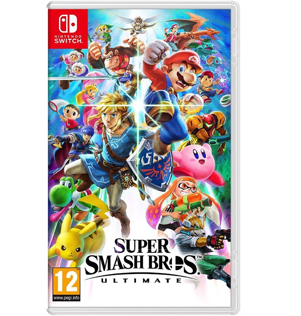 Đĩa Game Super Smash Bros Ultimate cho Nintendo Switch