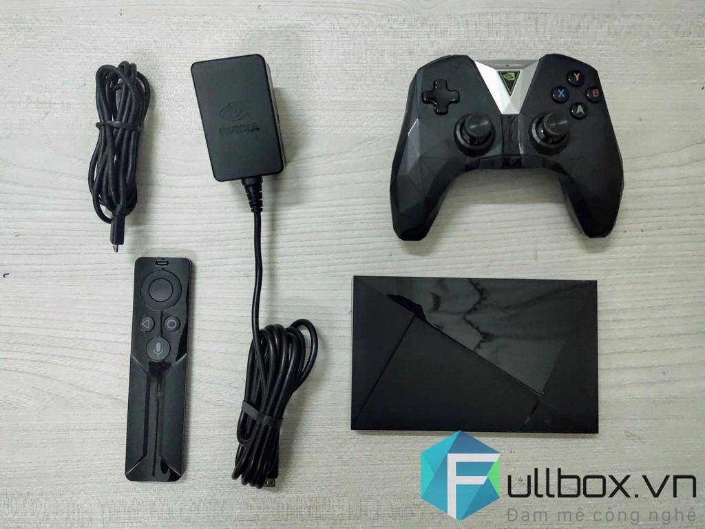 Shield tv bundle controller used
