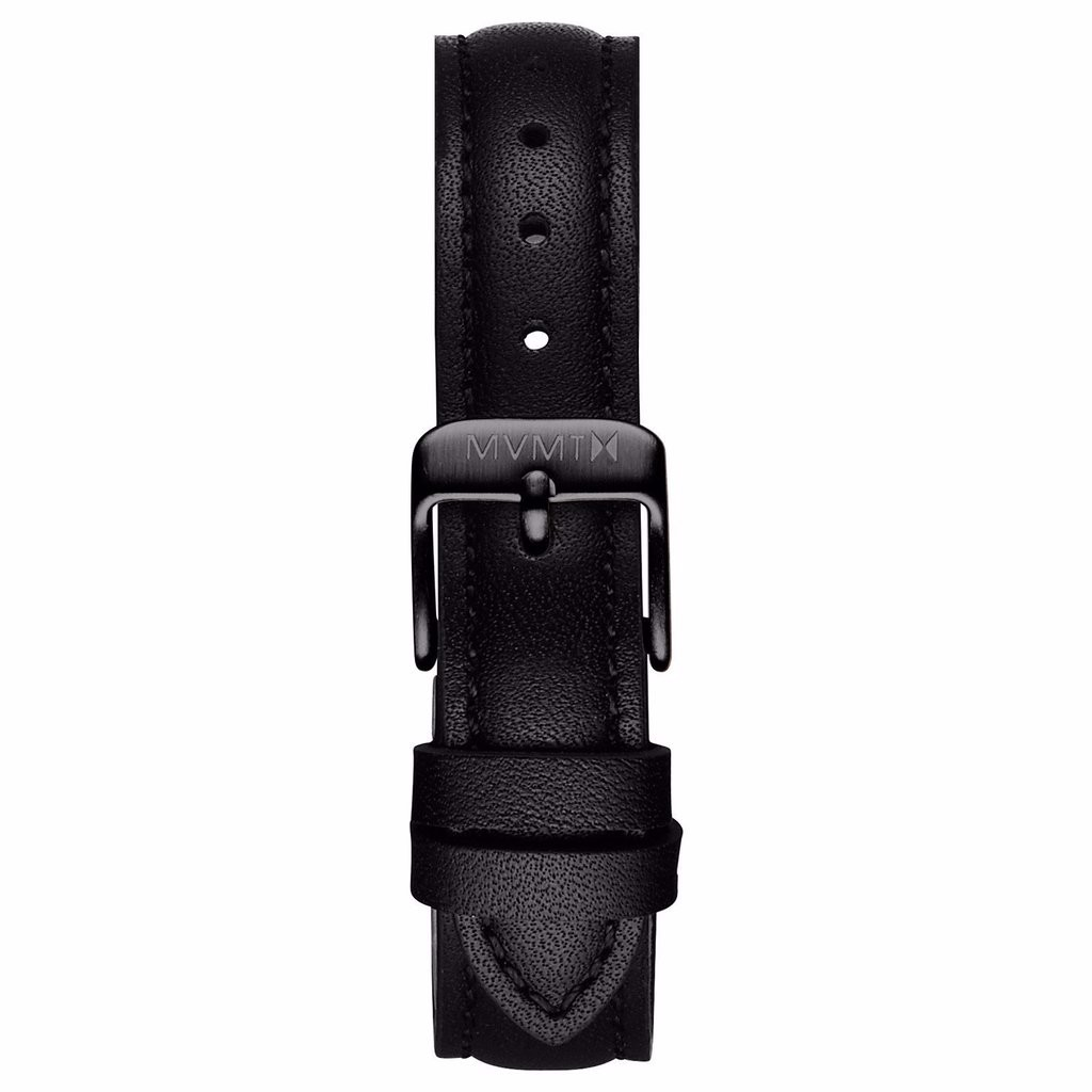 Dây Đeo Đồng Hồ MVMT 14mm Black Leather - Avenue Series