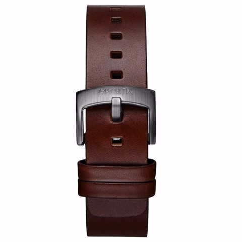 Dây Đeo Đồng Hồ MVMT 20mm Brown Leather - Revolver Series