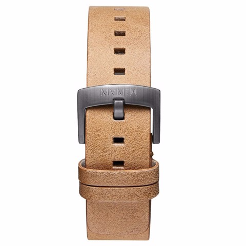 Dây Đeo Đồng Hồ MVMT 20mm Caramel Leather - Revolver Series
