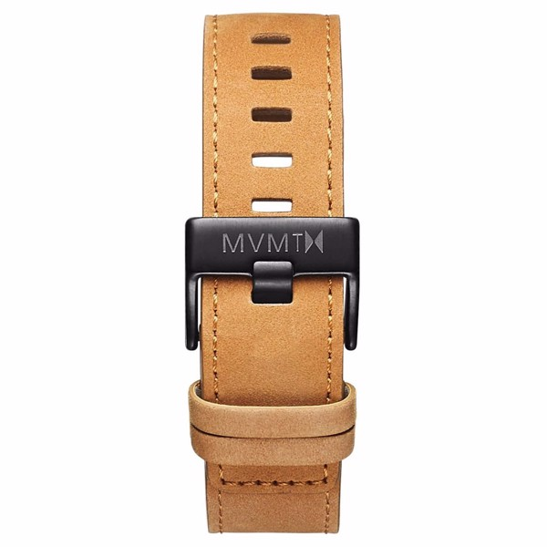 Dây Đeo Đồng Hồ MVMT 22mm Tan Leather - Chrono 45 Series