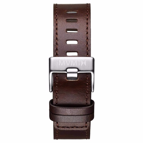 Dây Đeo Đồng Hồ MVMT 20mm Brown Leather - Chrono 40 Series