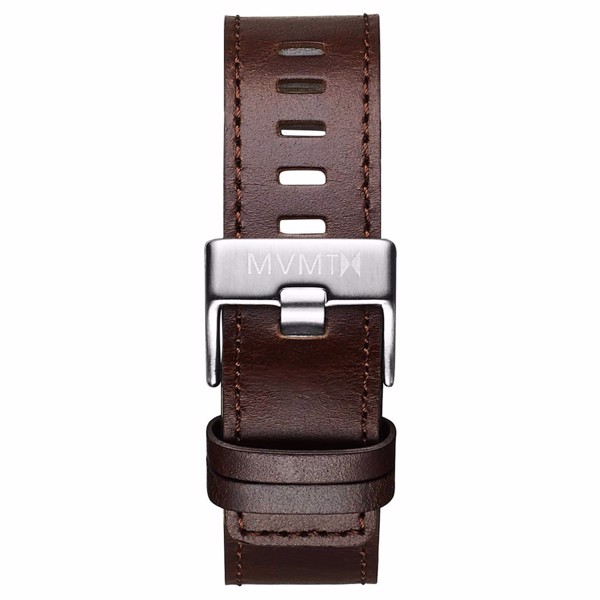 Dây Đeo Đồng Hồ MVMT 22mm Brown Leather - Chrono 45 Series