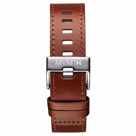 Dây Đeo Đồng Hồ MVMT 22mm Natural Leather - Chrono 45 Series